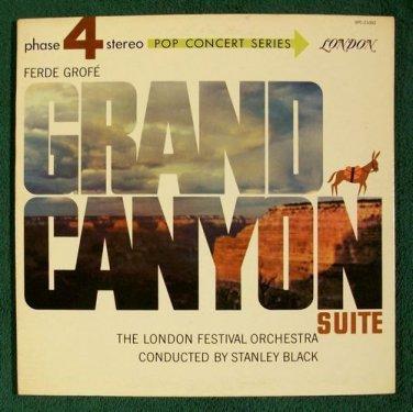 Ferde Grofe   ~   GRAND CANYON SUITE    Stanley Black    Classical LP