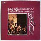 FAURE ~ Quatuor Avec Piano, Op. 15 / Quatuor a Cordes, Op. 121  *  A. Rubenstein