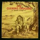 DANZAS FOLKLORICAS ARGENTINAS ~ Las Curedas Gauchas   /  LP Argentina