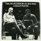A SALLE PLEYEL  ~  Oscar Peterson Et Joe Pass      1975 DOUBLE Jazz LP