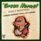 THE GREEN HORNET   ***   1977 Soundtrack LP     Nostalgia Lane Recording