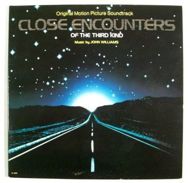 CLOSE ENCOUNTERS OF THE THIRD KIND   ~   1977 Movie Soundtrack LP