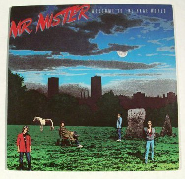 """MR. MISTER      """" Welcome To The Real World """"       1985 Rock LP"""