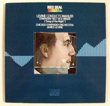 "MAHLER Symphony No. 7 in E Minor (""Song of the Night"")   Levine / Classical LP"