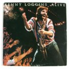 """KENNY LOGGINS        """" Kenny Loggiins Alive """"      1980 DOUBLE Rock LP"""