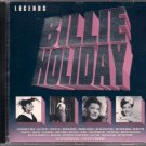 "BILLIE HOLIDAY  ~  "" Legends ""      Blues / R&B  CD"