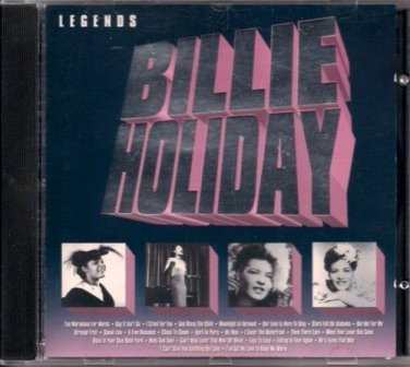 "BILLIE HOLIDAY  ~  "" Legends ""      Blues / R&B  CD"