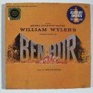 BEN-HUR   ***   Movie Soundtrack LP    1959 Boxed Deluxe Ed. w/Book