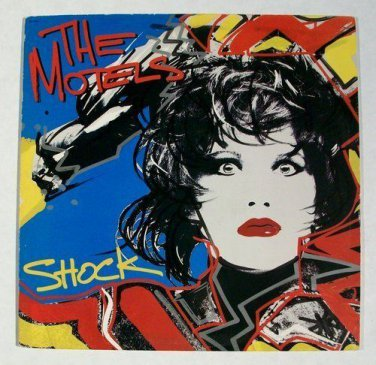 THE MOTELS      Shock      1985 New Wave/Rock LP
