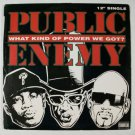 PUBLIC ENEMY  ~  What Kind Of Power We Got?       1994 Rap EP