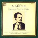 GUSTAV MAHLER  ~  Symphony No. 4 in G Major    A. Gibson / Scottish National  LP