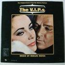 THE V.I.P.s   ~   1963 Original Score LP      Elizabeth Taylor / Richard Burton