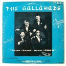 The GALLAHADS ~  Great Great Great Show     1950's Pop LP / All 4 members signed