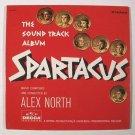 SPARTACUS  ~  1960 Original Soundtrack LP       Kirk Douglas / Laurence Olivier