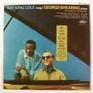 NAT KING COLE Sings / GEORGE SHEARING Plays  ~  1963 Jazz / Pop LP    + Bonus LP
