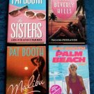 PAT BOOTH     Lot of ( 4 ) Contemporary Erotic Thrillers   HC/DJ