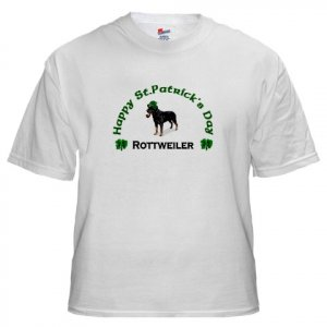 Rottweiler St. Patrick's Day T-Shirt
