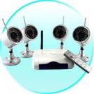 Wireless IR Night Vision Camera Security Set (NTSC)