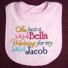 *Twilight* Baby Bella Baby Jacob/Edward Bib