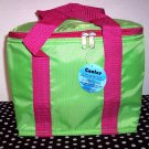 Lime/Pink Lunch Tote Bag Free Monogramming