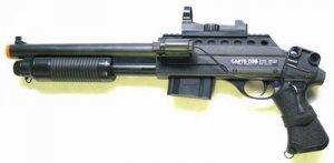 CH0581A Airsoft Pistol Grip Pump Shotgun spring powered airsoft gun