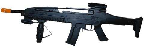 M8B: XM8 Boys Rifle with Laser spring powered airsoft gun rifle,