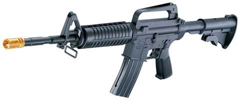MR711: M16 Style M4A1 Sniper spring powered airsoft gun rifle,