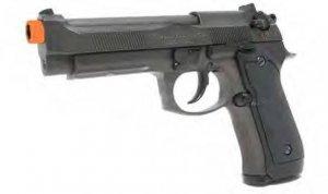 HFC-190 Full Auto, Select Fire Beretta 92 Style gas powered airsoft pistol gun