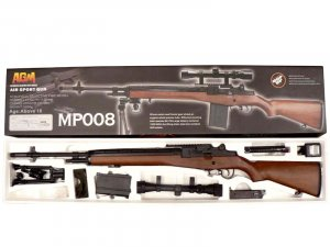 MP008 M14 AEG HEAVY clone of the TM M14 select fire rifle airsoft