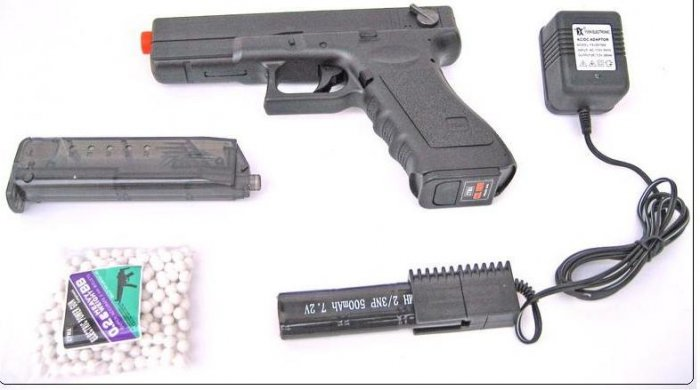 Cyma The CM030 is an outstanding quality TM G18C AEP clone electric airsoft pistol gun