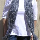 Hand Knitted Scarf # 114 Zebra Baby