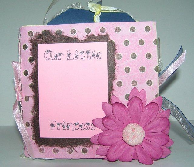 Disney Princess Custom Scrapbook Album