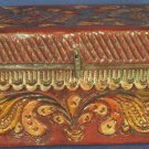 Peruvian Hand-Carved Wooden Trinket Box