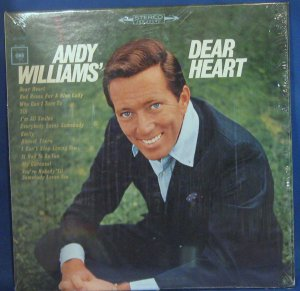 Andy Williams' Dear Heart - Vinyl LP