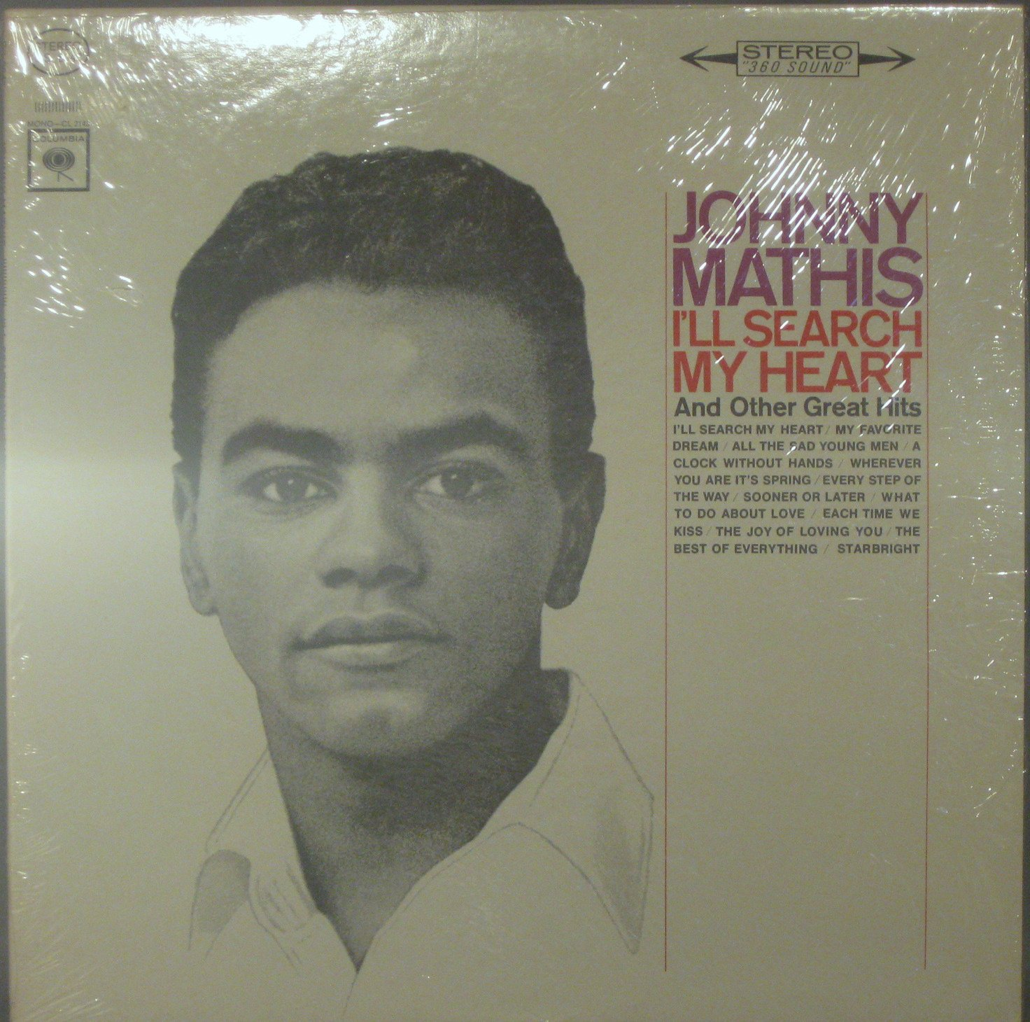 Johnny Mathis I'll Search My Heart And Other Great Hits - Vinyl LP