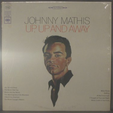 JOHNNY MATHIS UP, UP AND AWAY - Vinyl LP