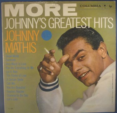 MORE JOHNNY'S GREATEST HITS - Johnny Mathis Vinyl LP