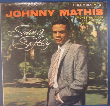 SING SOFTLY - Johnny Mathis - Vinyl LP