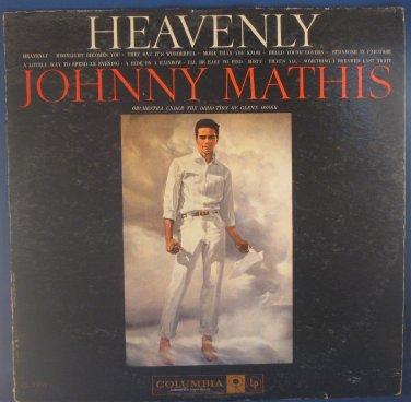 HEAVENLY - Johnny Mathis - Vinyl LP