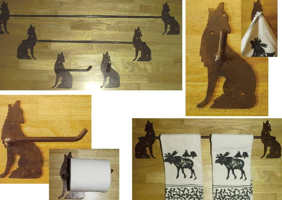 Wolf Towel Set