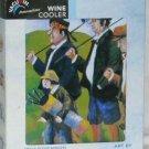 Rapid Ice Wine Bottle Cooler Art by Guy Buffet Golfers Vacu Vin New