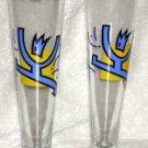 Sahm Germany Beer Glasses Innovative Designer Glassware Pilsner Set 2 New German