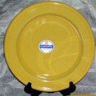 Emile Henry Plate Dessert Salad Jaune Provencal Yellow Stoneware Made France New