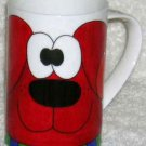 Dunoon Sarah Mercer Mug Red Dog Shots Coffee Tea Porcelain Cartoon England New