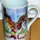 Sharon Neuhaus Mug Poultry in Motion Rooster Chicken Coffee King Mug Ranch New