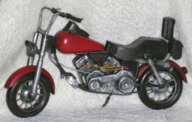 Vintage Reproduction Antique Motorcycle Retro Low Rider Display Decorative New