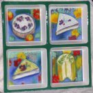 Linda Montgomery Platter Sectional Provence Cheese Stoneware Party Large New