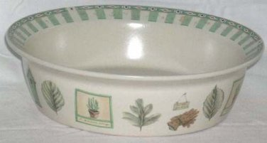 Pfaltzgraff Bowl Naturewood Vegetable Serving Country Farmhouse Stoneware New