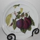 Portmeirion Plate Salad Dessert Pomona Reine Claude Plum S-W Ellis England 1982