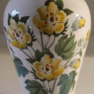 Portmeirion Vase Canton The Botanic Garden S W Ellis England Cotton Flower 1972